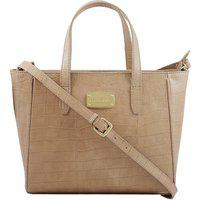 La Roma Women's Stylish Leather Taupe Casual Handbag ||Partywaer|| Marriage|| Wedding Handbag