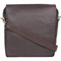 P&y Fashion Cross-body Men's Messenger Sling Bag For Office/college/travel Purpose (brown)