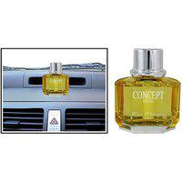 Concept Car Air Freshener Luxury Perfume Yellow