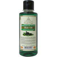 Khadi Pure Herbal Ayurvedic 21 Herbs Hair Oil - 210ml