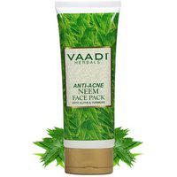 Vaadi Herbals Anti-acne Neem Face Pack With Clove Turmeric (120gms X 1)