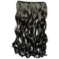 Param Human Hair Wig Curly Black / Dark Brown