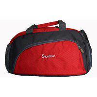 Skyline Unisex Gym Bag-with Warranty-751 Red