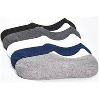 Dlt Multi Casual No Show Socks Loafer Socks (pack Of 5 )