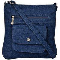 Exotique Blue Sling Bag