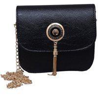 Clementine Women's Black Crossbody Bag