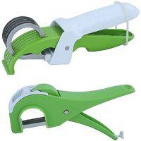 Rotek Combo Of Round Blade Vegetable Cutter Straight Blade Vegetable Cutter