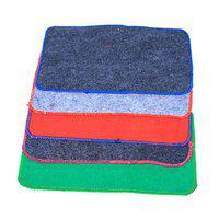 Kuber Industries Water Absorbent Rough & Tough Bath Mat Set Of 5 Pcs (size-49*29 Cm)