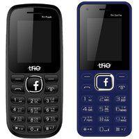 Trio T4 Flash T4 Selfie Dual Sim Multimedia Mobile Combo