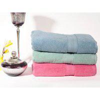 The Bath Boutique Plush Bath Towel - Set Of 3
