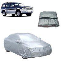 Trigcars Ford Endeavour Old Car Body Cover Silver With Mirror Pockets