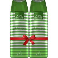 Aris Belissimo Deodorant Body Spray For Women 200 Ml. (set Of 2 Deodorants)