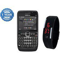 Combo Refurb Nokia E63 plus Led Watch | Good Condition | 1 Year Warrantybazaar Warranty