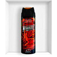 Aris Authorized Deodorant Body Spray For Men 200 Ml.(set Of 2 Deodorants)