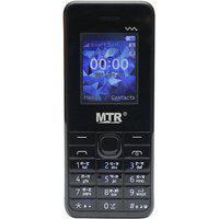 Mtr Mt 230 Mini Dual Sim Mobile Phone In Black And Grey Color