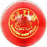 Svr Club Leather Cricket Ball For Beginners And Trainers Lightweight Special Bounce Made In Premium Alum Tanned Leather Quality