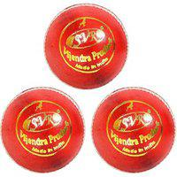 Svr Tournament Leather Cricket Balls For Professionals Lightweight Special Bounce Made In Premium Alum Tanned Leather Quality