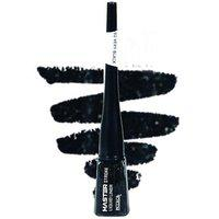 Elegancio Pearl Glliter Master Strocke Liquid Eye Liner-black With 2 Small Round Lipsticks