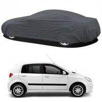 Resistant Car Cover For Hyundai Grand I10 (grey Without Mirror )