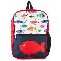 The Yellow Jersey Company (yjc) Underwater Theme (blue) School Bag (14 Inches)