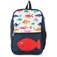 The Yellow Jersey Company (yjc) Underwater Theme (red) School Bag (14 Inches)