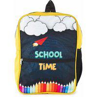 The Yellow Jersey Company (yjc) Scientist Theme (yellow) School Bag (14 Inches)