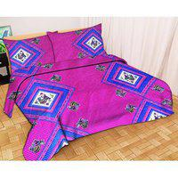3d Jaipuri Print Bedsheet With Jaipuri Pillow
