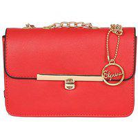 Elprine Beautiful Trendy Sling Red Simple Stylish Bag For Women/girls
