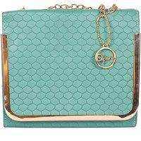 Elprine Vintage Candy Green Multiple Compartments Sling Bag For Women