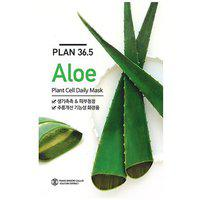 Plan36.5 Plant Cell Aloe Face Mask 10 plus 10 Sheets