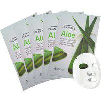 Msd Plan 36.5 Plant Cell Daily Mask Aloe 10 plus 2 Sheets (23 Ml Each)