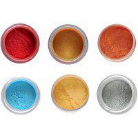 Vozwa Shining Eyeshadow Shimmer Powder (copper Golden Maroon Blue Silver Gold Gradient)
