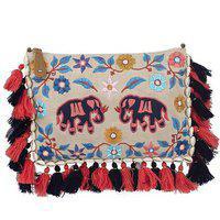 Vasa Girls And Women's Sling Bag In Multi Color