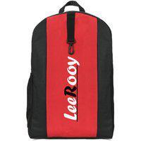 Leerooy Canvas 22 Ltr Black Messenger Bag Backpack For Men