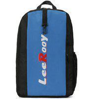 Leerooy Nylon 22 Ltr Black Sling Bag Backpack For Women
