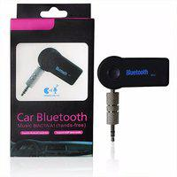 Favourite Deals Car Kit Bluetooth Audio Receiver Adapter With Built-in Mic And 3.5mm