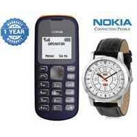 Nokia 103/ Good Condition/ Certified Pre Owned (1 Year Warranty) With Watch
