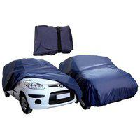 Gs Premium Quality Waterproof Parachute Blue With Side Mirror Pockets Car Body Cover For Maruti Suzuki 800
