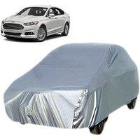 Gromaa Silver Water Resistant Car Body Cover For Ford Fusion