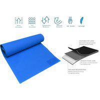 Blays Eco Friendly Anti Skid Yoga Exercise Mat (4mm) Blue