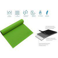 Blays Eco Friendly Anti Skid Yoga & Exercise Mat Green (6mm)