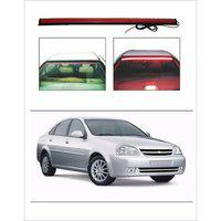 Trigcars Chevrolet Optra Old Car Roof Line Led Third Brake Light Kit Above Rear Windshield plus Free Car Bluetooth