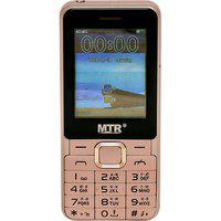 Mtr Bullet Dual Sim Mobile Phone With 2.4 Inch Display With Powerful Boom Speaker With Light Pink