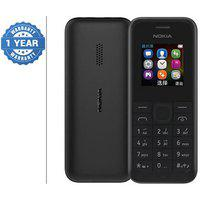 Nokia Black Refurbished Single Sim Feature Phone