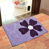 Shakrin Single 50x80 Bath Mat Purple