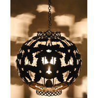 Ah Hanging Lamp Moraccan Leaf Hanging Light Ceiling Light Pendent Lamp Multi Color (suited For Home Decoration Living Room Balcony Etc) B22