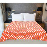 Valtellina Polka Printed Double Bed Ac Blanket