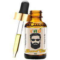 Rnd Beard Oil Conditioner- All Natural Organic Argan Jojoba Oils - Promotes Beard Growth - Softens Strengthens Beard