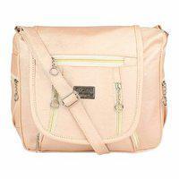 Bizarre Vogue Stylish Sling Bag For Girls Women (cream Bv1100)