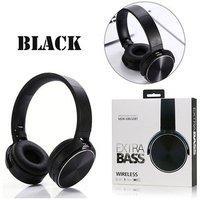 Xb950 Over Ear Wireless Headphones With Mic Black
